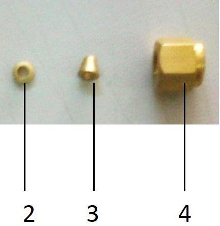 Somun, kovan, yüzük (nut, ferrule, back ferrule) takımı (10/pk)