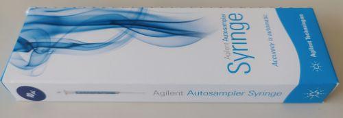 ALS syringe, Blue Line, 10 µL, fixed needle, 23-26s/42/cone